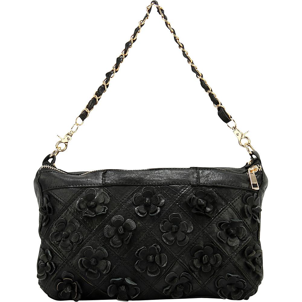 Ann Creek Women s Lainey Patchwork Bag Black Ann Creek Manmade Handbags