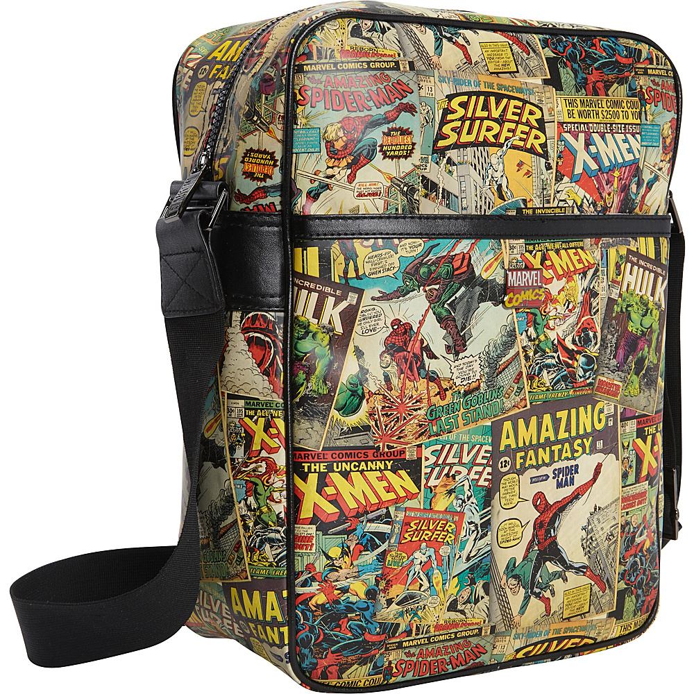 Marvel Marvel Comic Retro Flight Bag Multi - Marvel Other Men's Bags