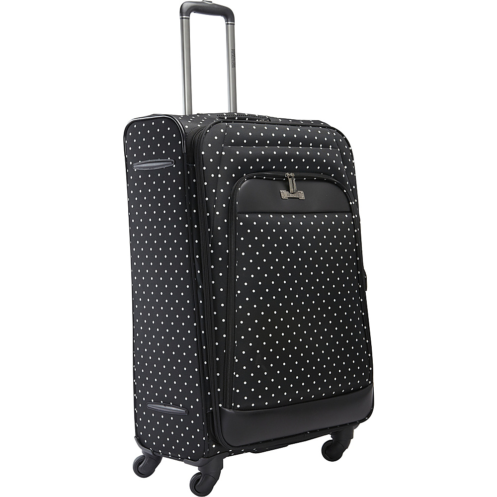 Kenneth Cole Reaction Dot Matrix 28 Luggage Black White Polka Dot Kenneth Cole Reaction Softside Checked