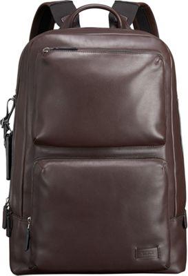 Tumi Harrison Archer Backpack Brown - Tumi Business & Laptop Backpacks