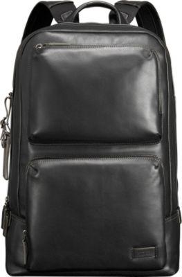 Black Leather Laptop Backpack moTXwAhA
