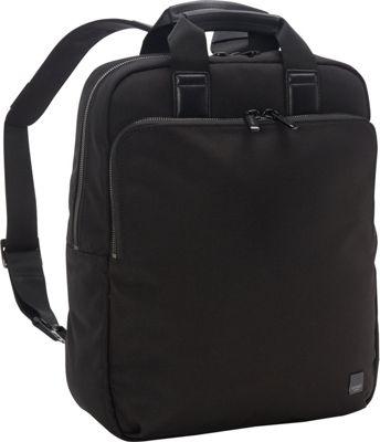 KNOMO London James Tote Backpack Black - KNOMO London Laptop Backpacks
