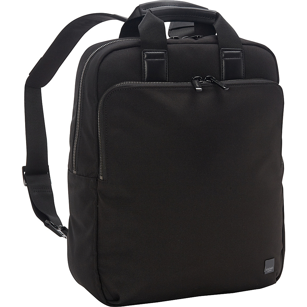 KNOMO London James Tote Backpack Black KNOMO London Business Laptop Backpacks