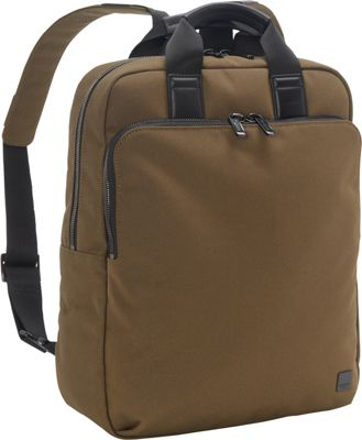 KNOMO London James Tote Backpack Deep Army Green - KNOMO London Business & Laptop Backpacks