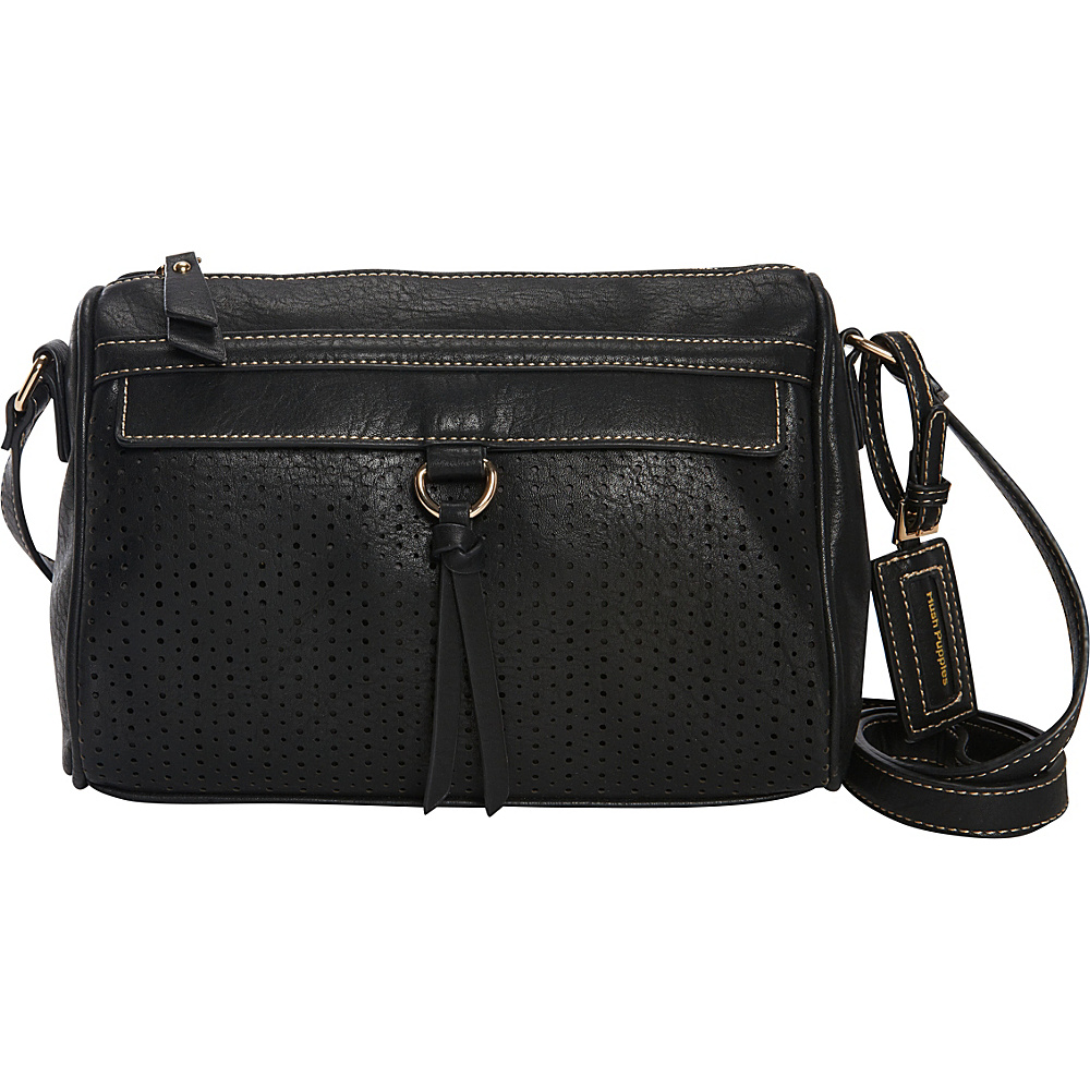 Hush Puppies Brooke Crossbody Black Hush Puppies Manmade Handbags