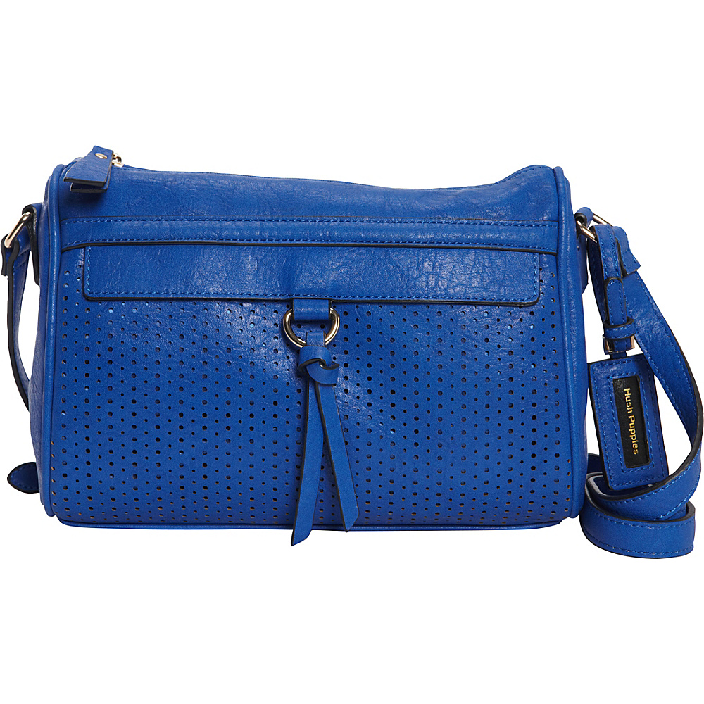 Hush Puppies Brooke Crossbody Royal Blue Hush Puppies Manmade Handbags