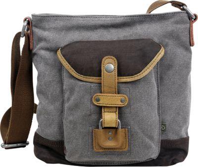TSD Tapa Crossbody bag Grey - TSD Fabric Handbags