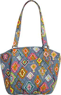 Vera Bradley Glenna Painted Medallions - Vera Bradley Fabric Handbags