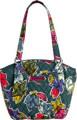 Vera Bradley Glenna Falling Flowers - Vera Bradley Fabric Handbags