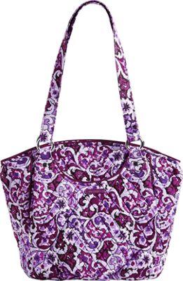 Vera Bradley Glenna Lilac Paisley - Vera Bradley Fabric Handbags