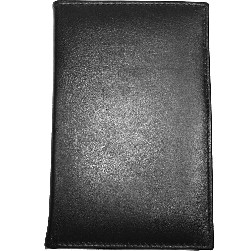Budd Leather RFID Credit Card Secretary Black Budd Leather Men s Wallets