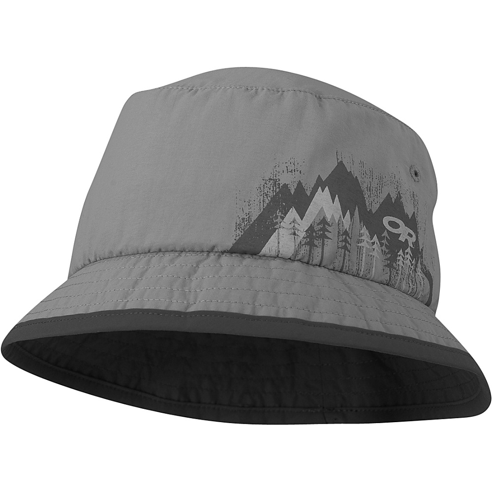 Outdoor Research Solstice Sun Bucket Kids M - Pewter - Outdoor Research Hats/Gloves/Scarves - Fashion Accessories, Hats/Gloves/Scarves