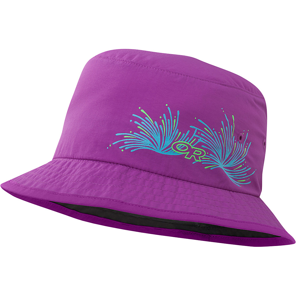 Outdoor Research Solstice Sun Bucket Kids Ultraviolet - Outdoor Research Hats/Gloves/Scarves - Fashion Accessories, Hats/Gloves/Scarves