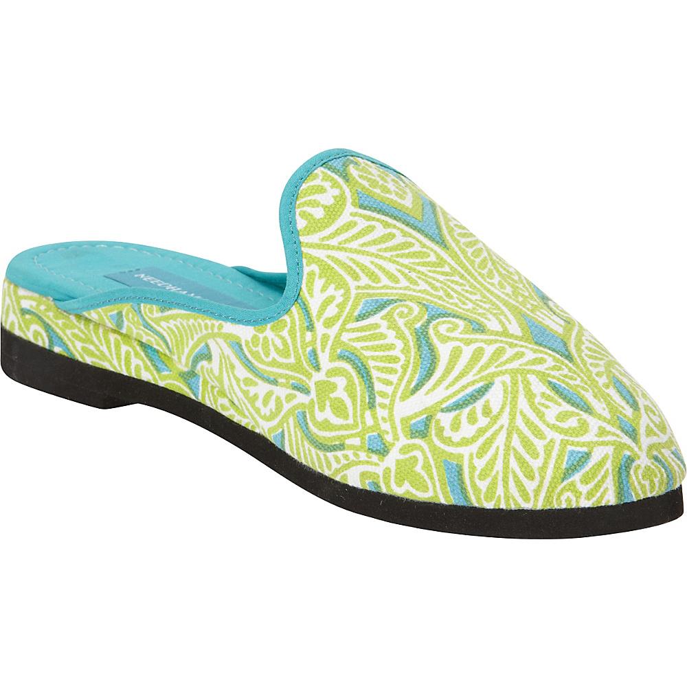 Needham Lane Clare Slip Ons Lime Small Needham Lane Women s Footwear