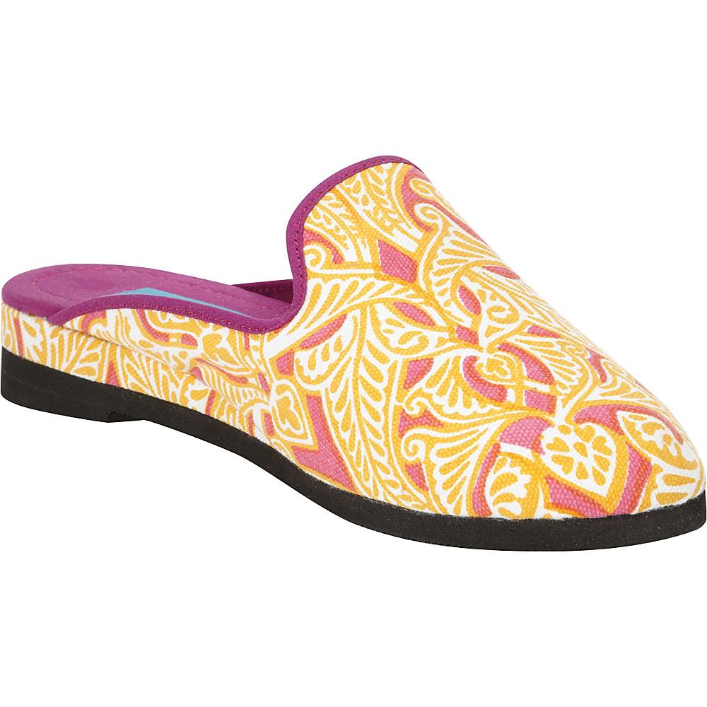Needham Lane Clare Slip Ons Orange Small Needham Lane Women s Footwear