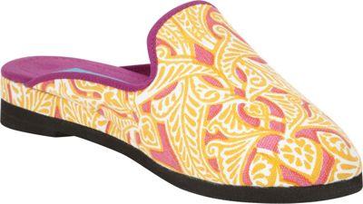 Needham Lane Clare Slip-Ons L - Orange - Large - Needham Lane Women's Footwear