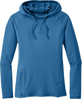 Outdoor Research Womens Ensenada Hoody L  -  Cornflower  -  Outdoor Research Women's Apparel