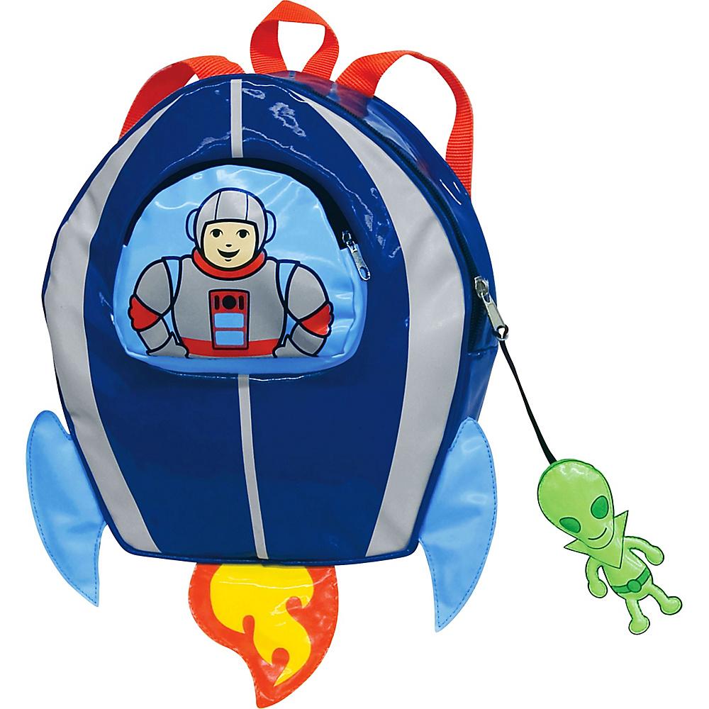 Kidorable Space Hero Backpack Blue One Size Kidorable Everyday Backpacks