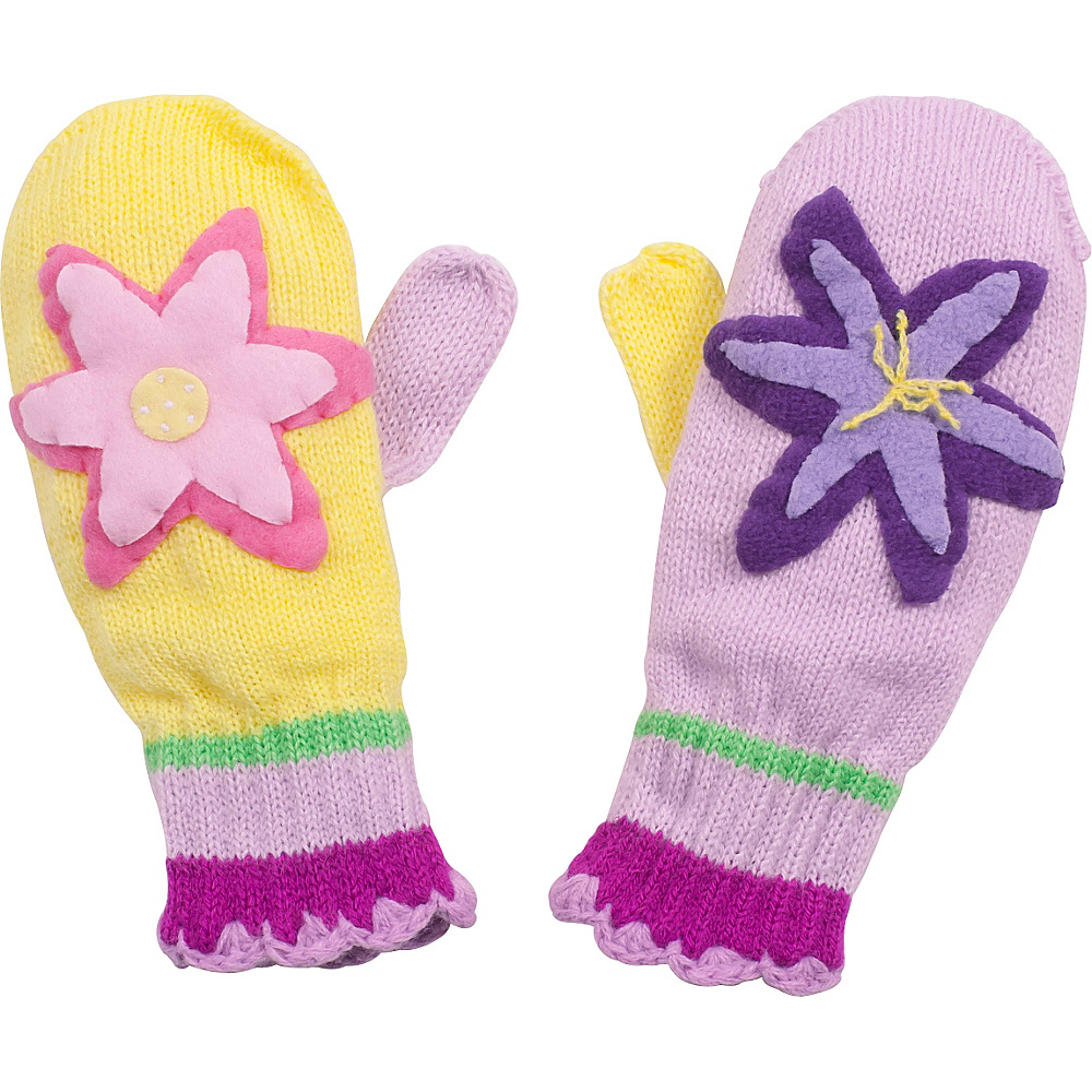 Kidorable Lotus Mittens Yellow Medium Kidorable Hats Gloves Scarves