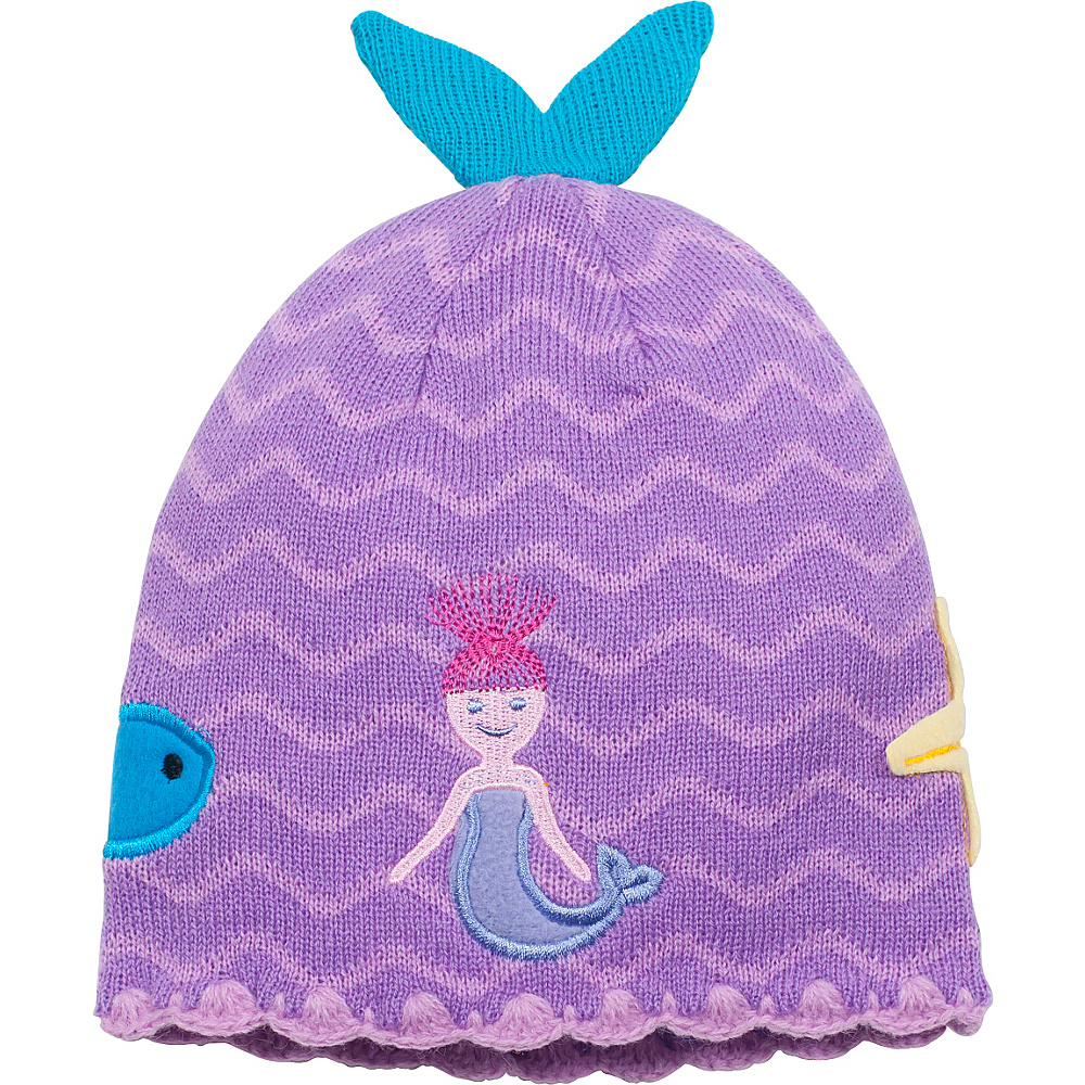 Kidorable Mermaid Knit Hat One Size - Aqua - One Size - Kidorable Hats/Gloves/Scarves - Fashion Accessories, Hats/Gloves/Scarves