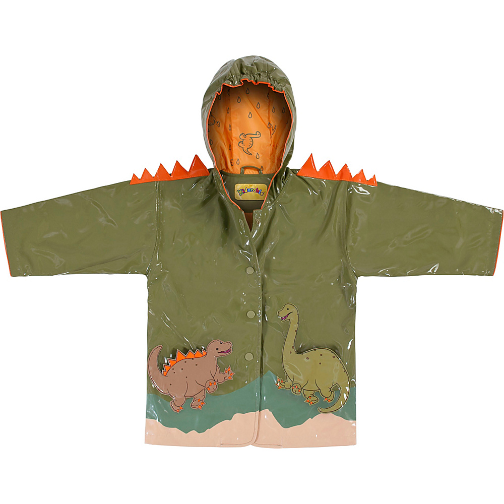 Kidorable Dinosaur All-Weather Raincoat 4T - Green - Kidorable Mens Apparel - Apparel & Footwear, Men's Apparel