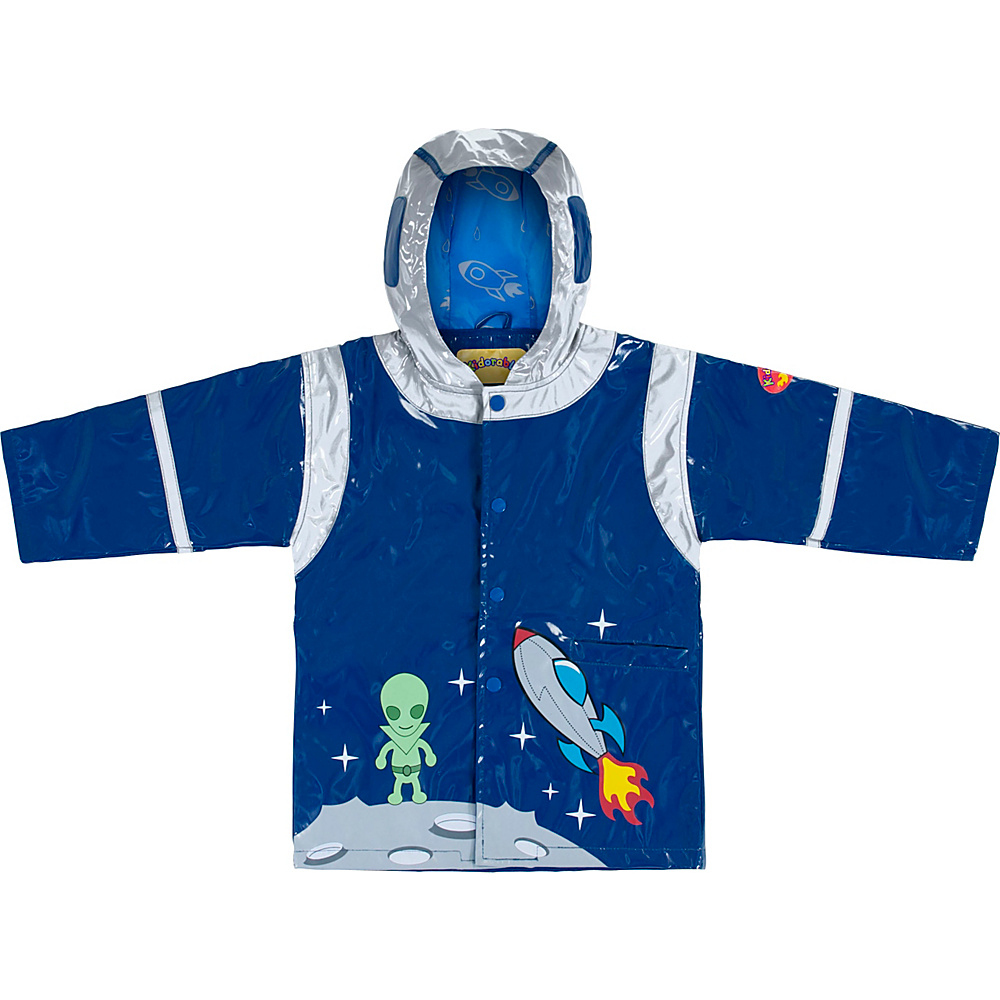 Kidorable Space Hero all-weather raincoat 4T - Blue - 4T - Kidorable Mens Apparel - Apparel & Footwear, Men's Apparel