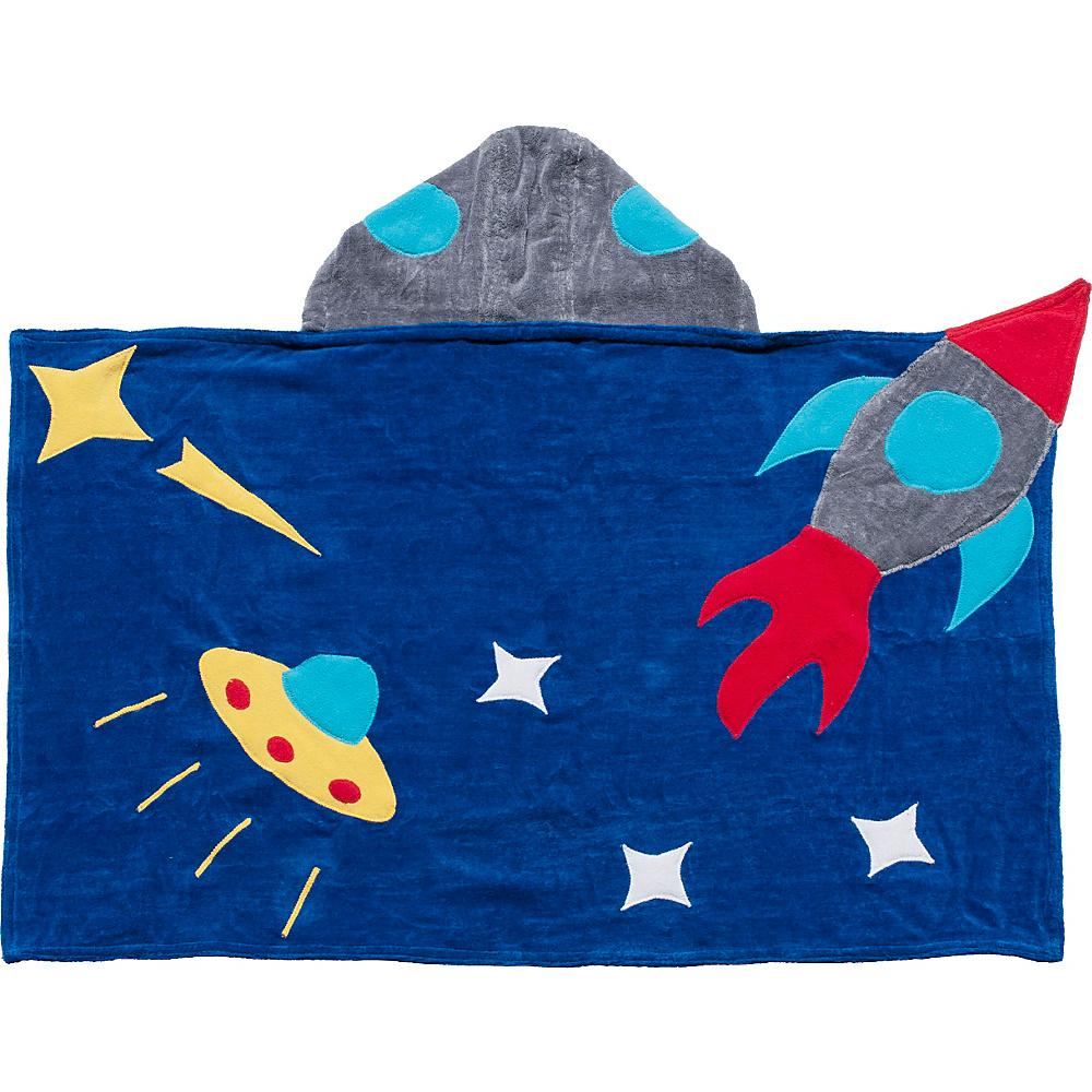 Kidorable Space Hero Hooded Towel Blue - Medium - Kidorable Sports Accessories - Sports, Sports Accessories