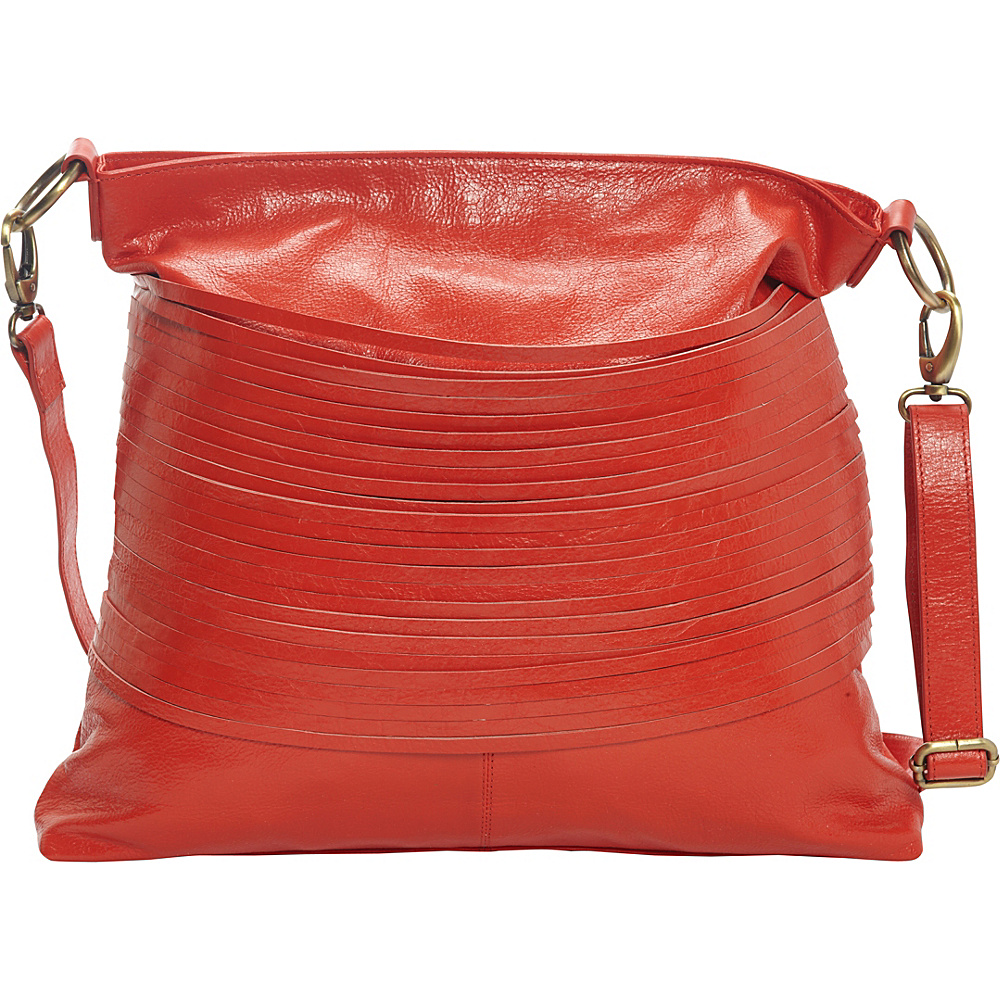 Latico Leathers Vance Shoulder Bag Poppy - Latico Leathers Leather Handbags - Handbags, Leather Handbags