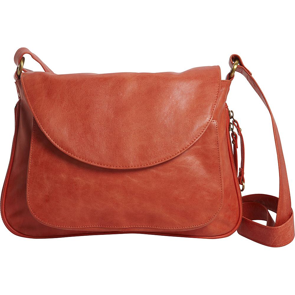 Latico Leathers Tiffin Shoulder Bag Vintage Red - Latico Leathers Leather Handbags - Handbags, Leather Handbags