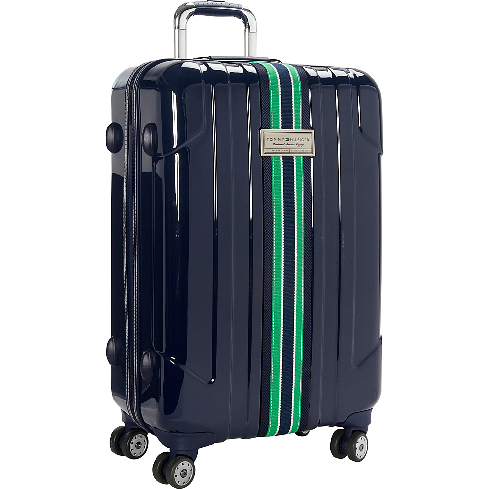 Tommy Hilfiger Luggage Santa Monica 25 Hardside Upright Spinner Navy Tommy Hilfiger Luggage Softside Checked