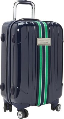 Tommy Hilfiger Luggage Santa Monica 21 inch Exp. Carry-On Spinner Navy - Tommy Hilfiger Luggage Softside Carry-On