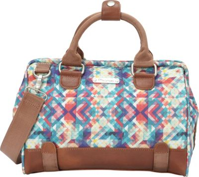 Po Campo Uptown Trunk Satchel Bag Mosaic - Po Campo Other...