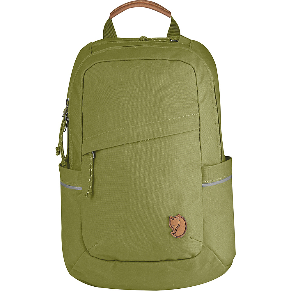 Fjallraven Raven Mini Backpack Meadow Green - Fjallraven Everyday Backpacks