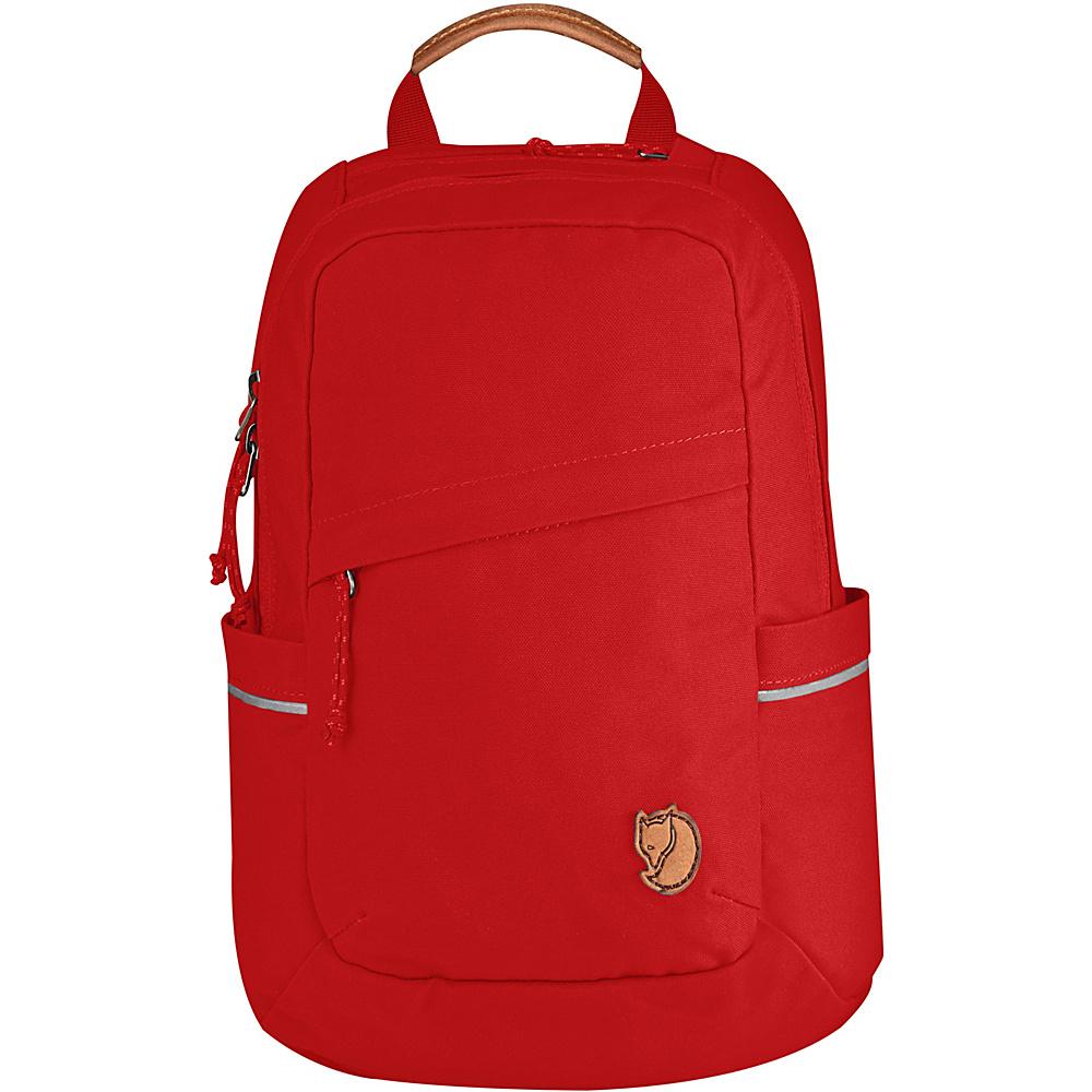 Fjallraven Raven Mini Backpack Red - Fjallraven Everyday Backpacks - Backpacks, Everyday Backpacks