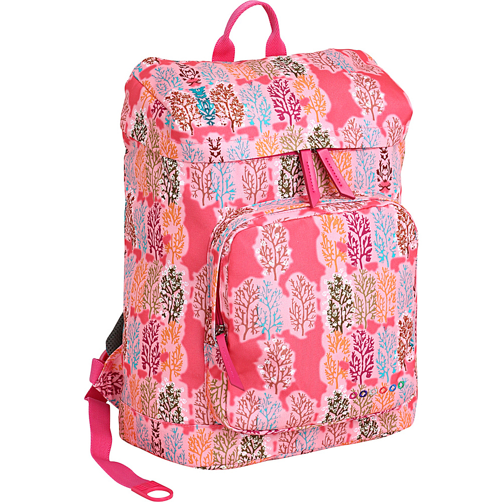 J World New York Eve Laptop Backpack Pink Forest - J World New York Business & Laptop Backpacks - Backpacks, Business & Laptop Backpacks