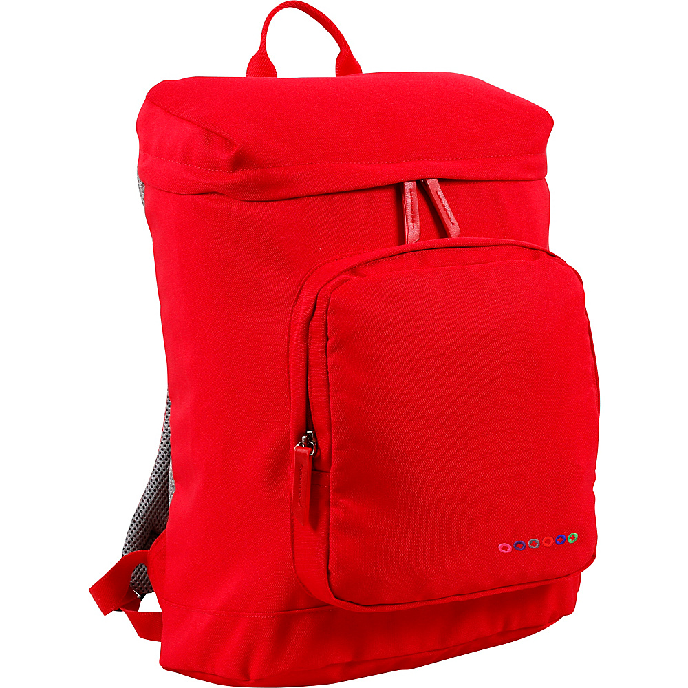 J World New York Eve Laptop Backpack Red - J World New York Business & Laptop Backpacks - Backpacks, Business & Laptop Backpacks