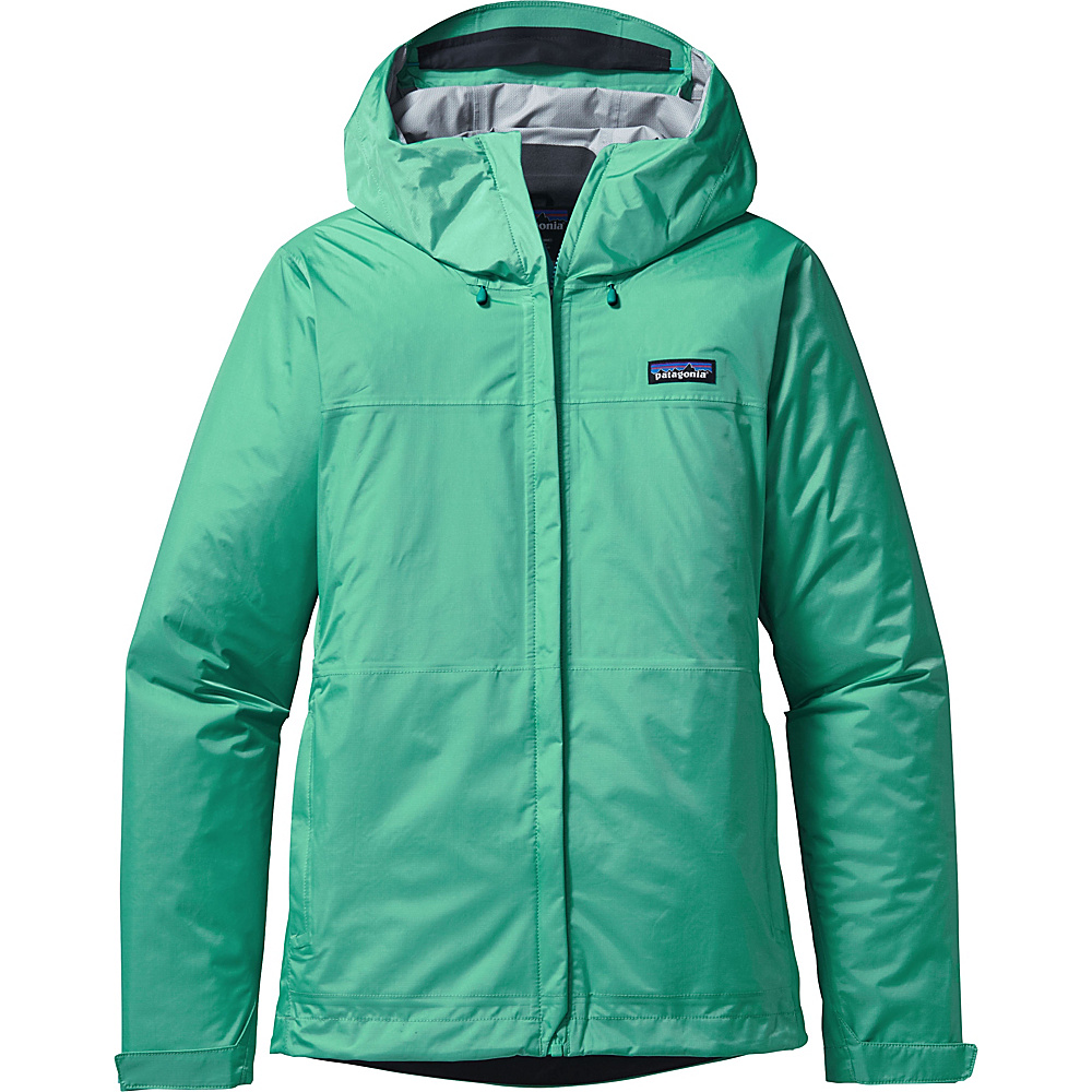 Patagonia Womens Torrentshell Jacket XS - Galah Green - Patagonia Womens Apparel - Apparel & Footwear, Women's Apparel