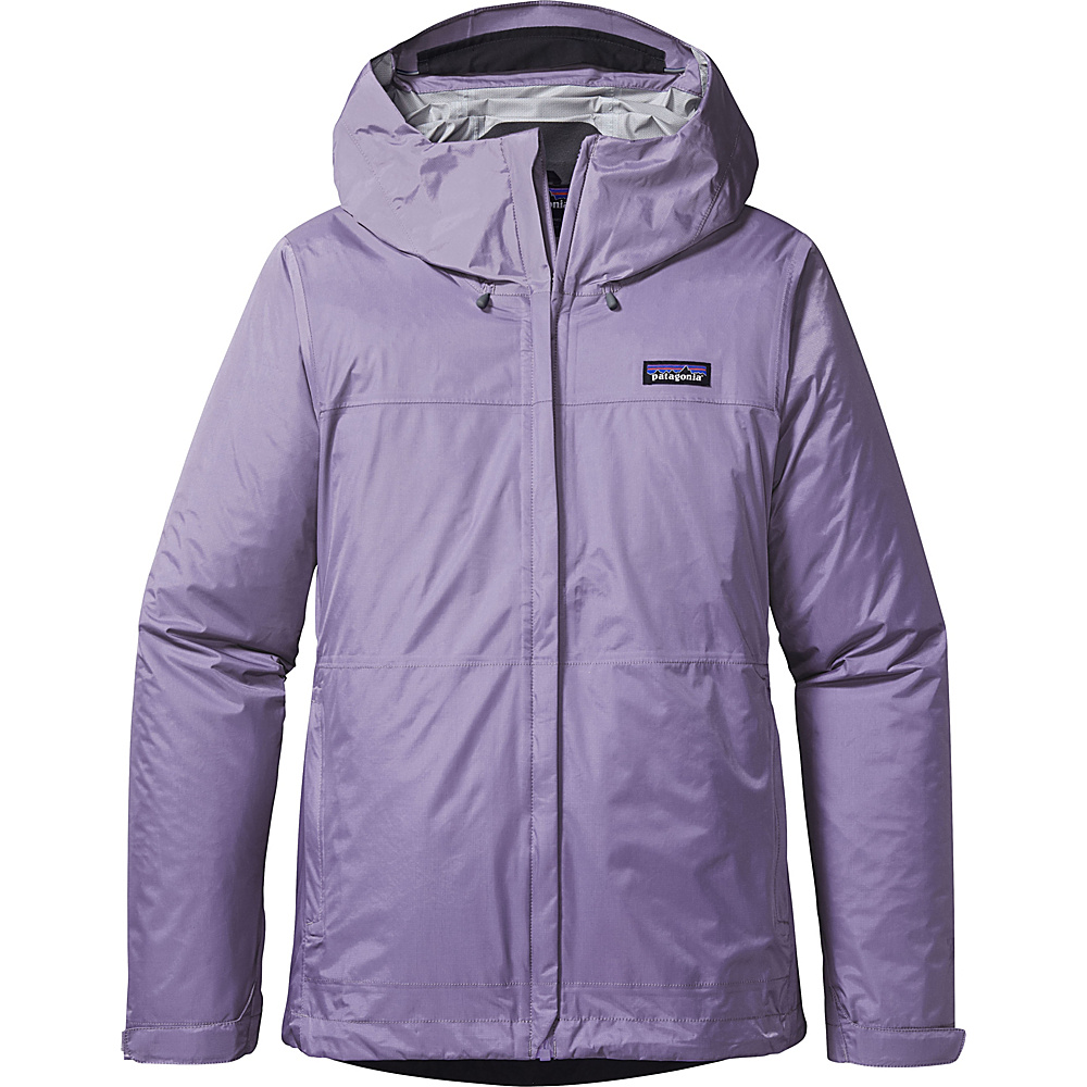 Patagonia Womens Torrentshell Jacket S - Petoskey Purple - Patagonia Womens Apparel - Apparel & Footwear, Women's Apparel