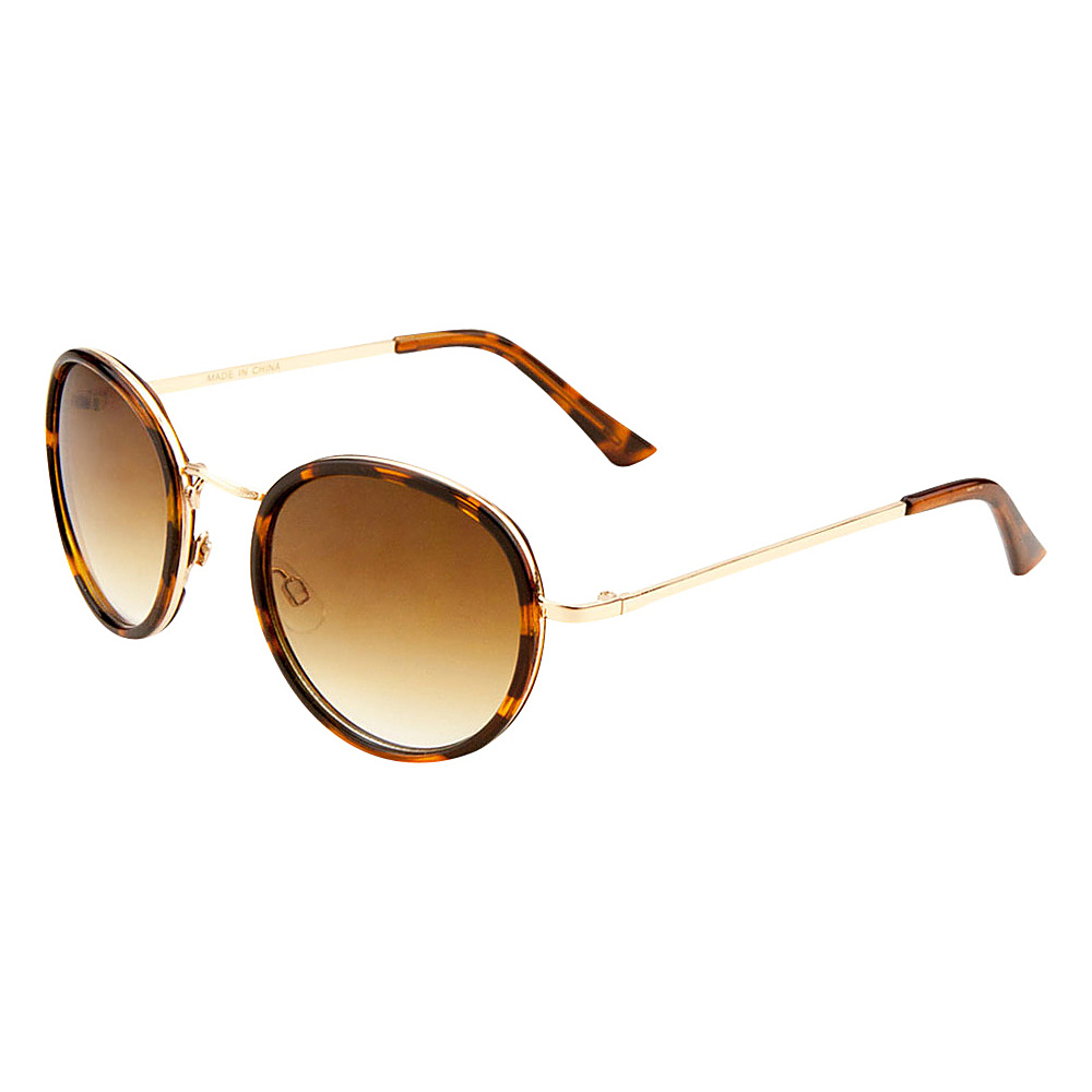 SW Global Eyewear Tari Round Fashion Sunglasses Gold - SW Global Sunglasses - Fashion Accessories, Sunglasses