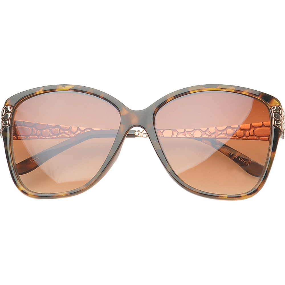 SW Global Eyewear Evansville Butterfly Fashion Sunglasses Brown SW Global Sunglasses