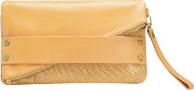 MOFE Trifecta Clutch Tan - MOFE Leather Handbags