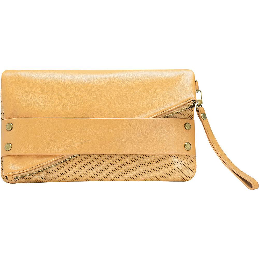 MOFE Trifecta Clutch Tan MOFE Leather Handbags
