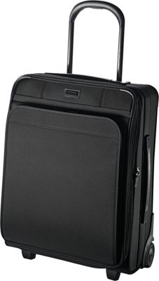 Hartmann Luggage Ratio Global Carry On Expandable Upright True Black - Hartmann Luggage Softside Carry-On