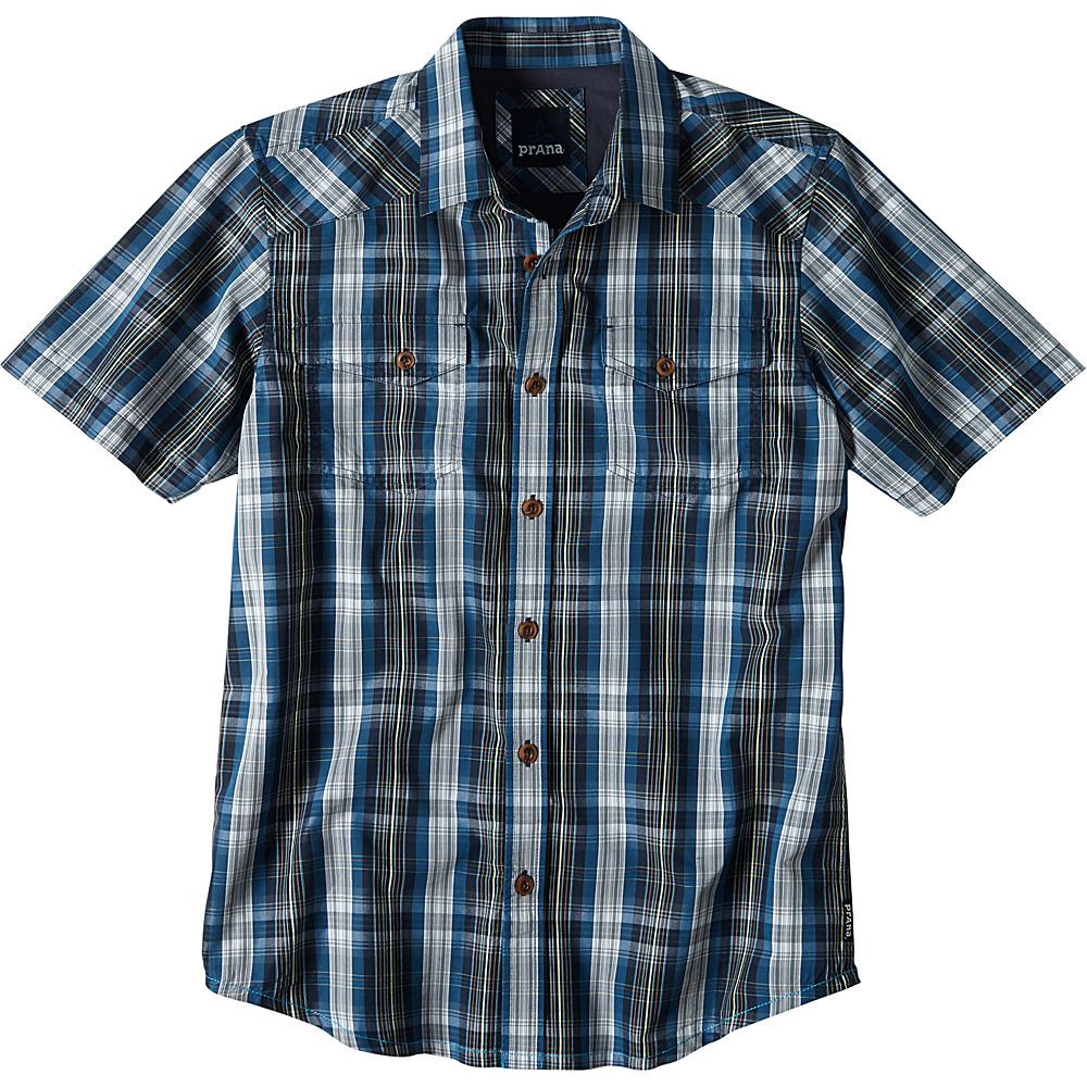 PrAna Murdock Shirt 2XL - Blue Ash - PrAna Mens Apparel - Apparel & Footwear, Men's Apparel