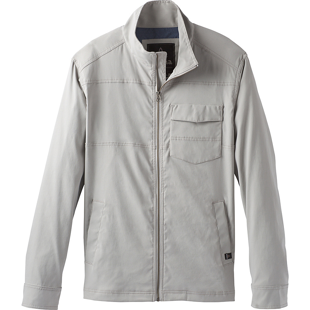 PrAna Zion Jacket XL - Grey - PrAna Mens Apparel - Apparel & Footwear, Men's Apparel
