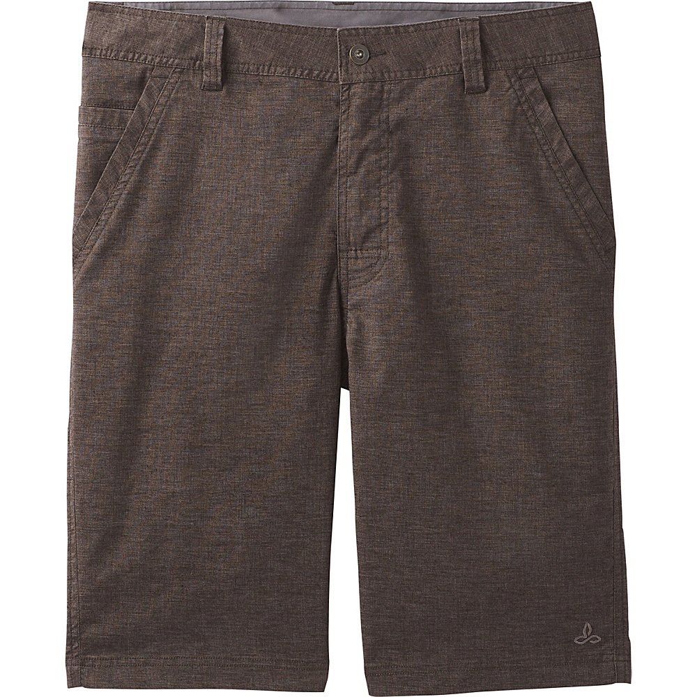 PrAna Furrow Shorts - 8 Inseam 35 - Acacia Brown - PrAna Mens Apparel - Apparel & Footwear, Men's Apparel