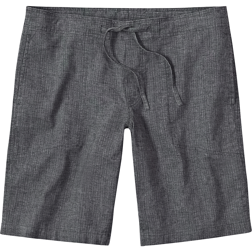 PrAna Sutra Shorts S - Black Herringbone - PrAna Mens Apparel - Apparel & Footwear, Men's Apparel