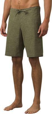 PrAna Sutra Shorts M - Black Herringbone - PrAna Men's Apparel
