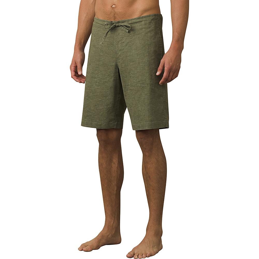 PrAna Sutra Shorts M - Black Herringbone - PrAna Mens Apparel - Apparel & Footwear, Men's Apparel