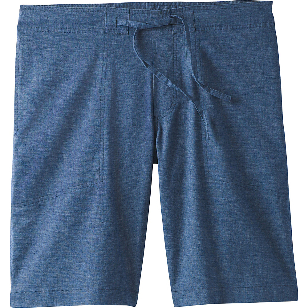 PrAna Sutra Shorts L - Black Herringbone - PrAna Mens Apparel - Apparel & Footwear, Men's Apparel